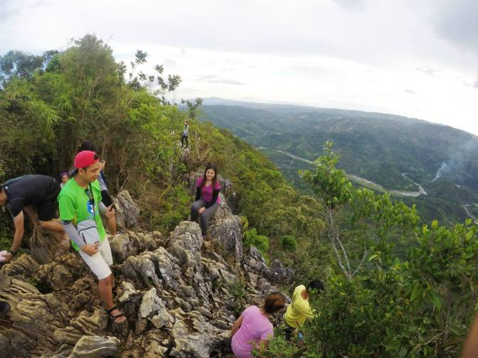 Commanding view of Tinipak river and Rizal province from the summit of Mt. Daraitan. Photo by Greisha Padilla.