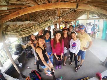#DaraitanMenTeam at the Barangay Hall. Photo by Greisha Padilla.