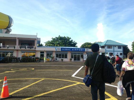 Virac Airport.