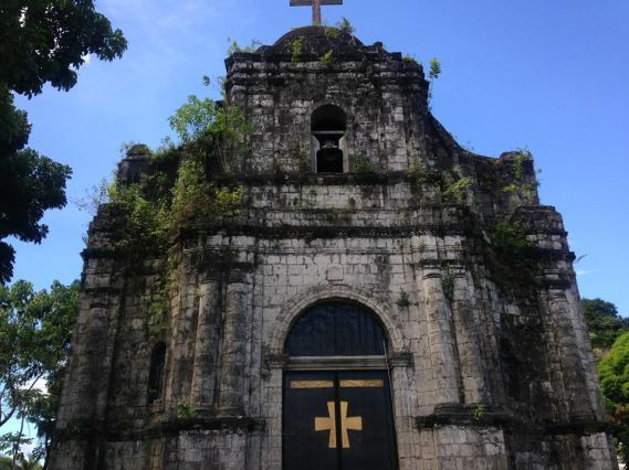 Facade of Bato Church