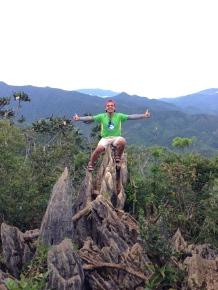 At the summit of Mt. Daraitan.