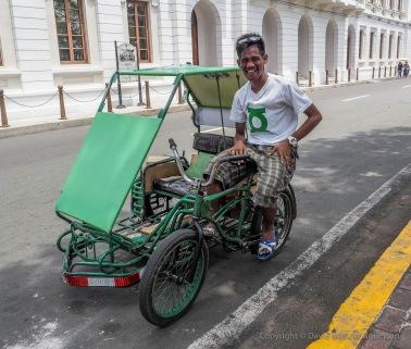 Pedicab or Padyak.