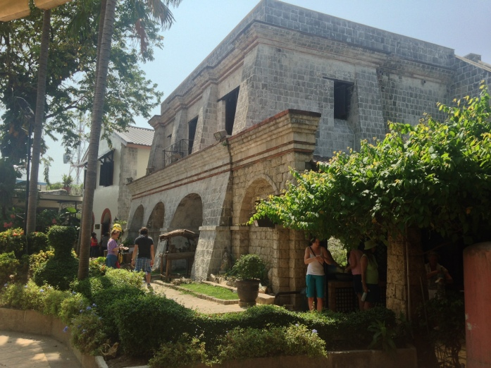 Cuerpo de Guardia, the largest structure inside the fort and former command post now house an art gallery and museum showcasing the history of Fort San Pedro.
