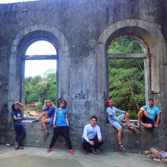 Observation deck of the abandoned Wawa dam. Photo by Greisha Padilla.