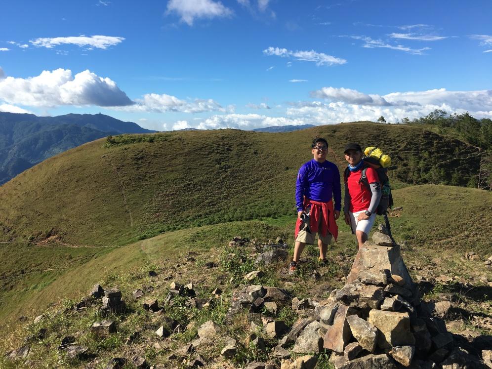 The rolling hills of Ambanao.