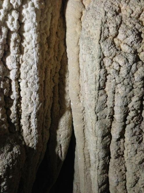 Stalactites inside Sohoton Cave.