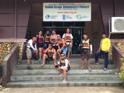 Geared for our Samar Torpedo experience.
